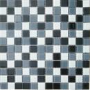 Мозаика CB005 (327*327мм) черно-белый