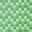 Мозаика CB011 (327*327мм) зеленый микс