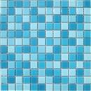 Мозаика CB301 (327*327мм) бело-голубой