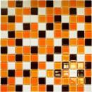 Мозаика СВ 806 (327*327мм) рыже -коричневая