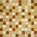 Мозаика СТВ 53 (327*327) карамельный микс Crystal+Stone