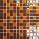 Мозаика R 1361 (327*327мм) кофейно-карамельный